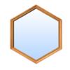 Hexagon window